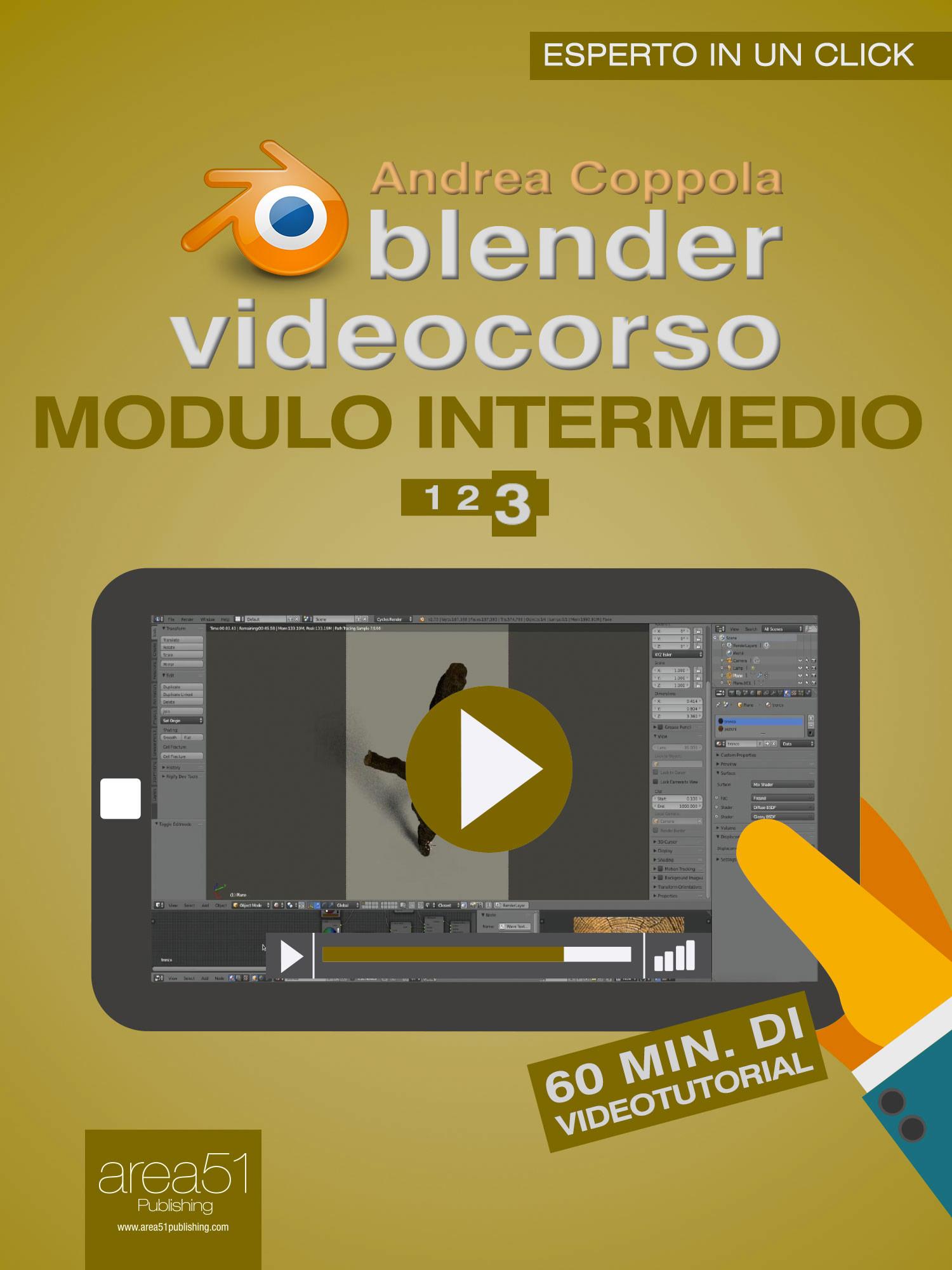 Blender Videocorso Modulo intermedio. Lezione 3-0